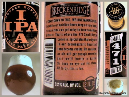 Breckenridge Small Batch DIPA